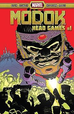 M.O.D.O.K.: Head Games (2020-) #1 (of 4)