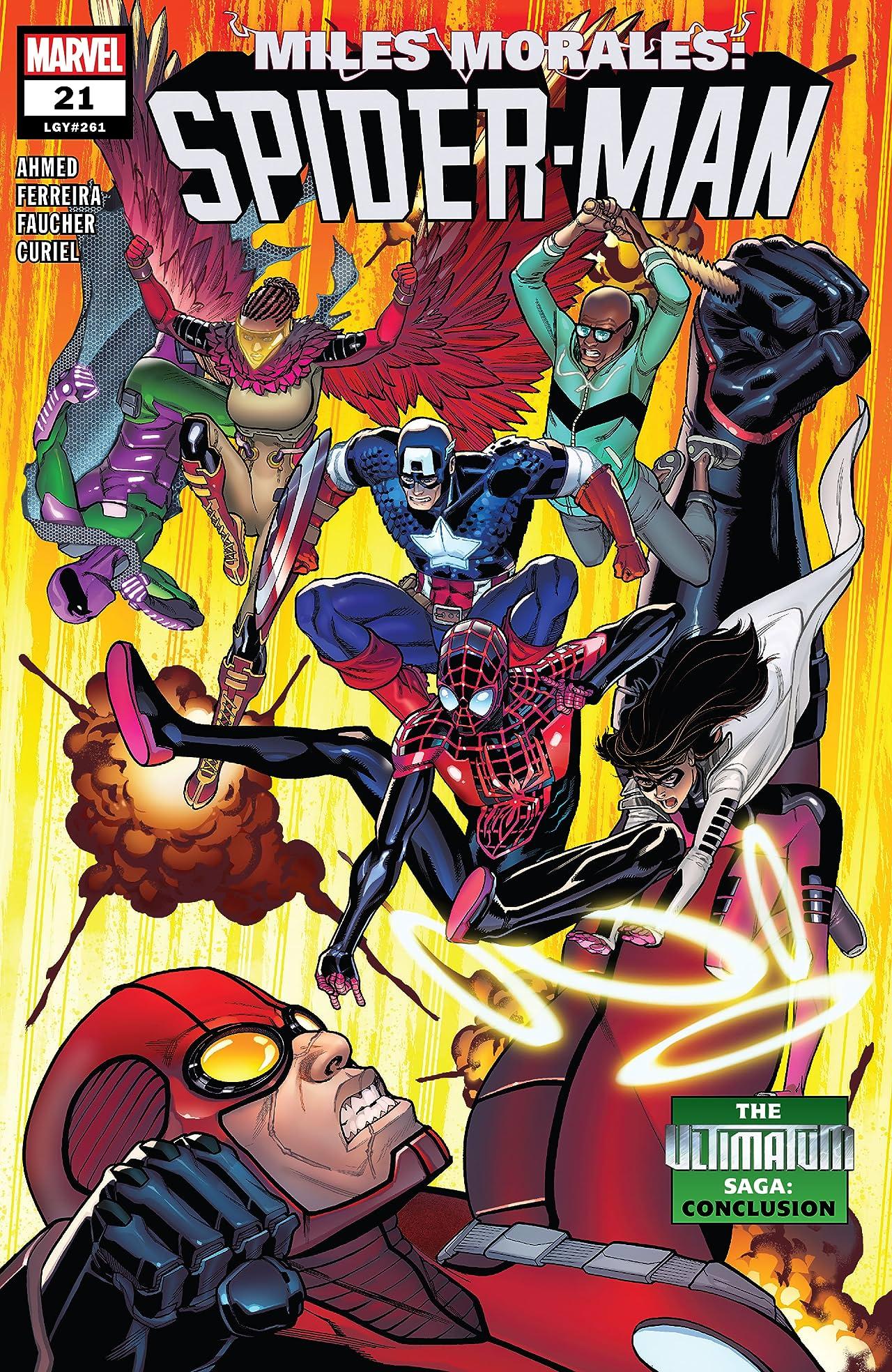 Miles Morales: Spider-Man (2018-) No.21
