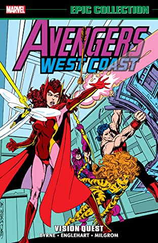 Avengers West Coast Epic Collection: Vision Quest