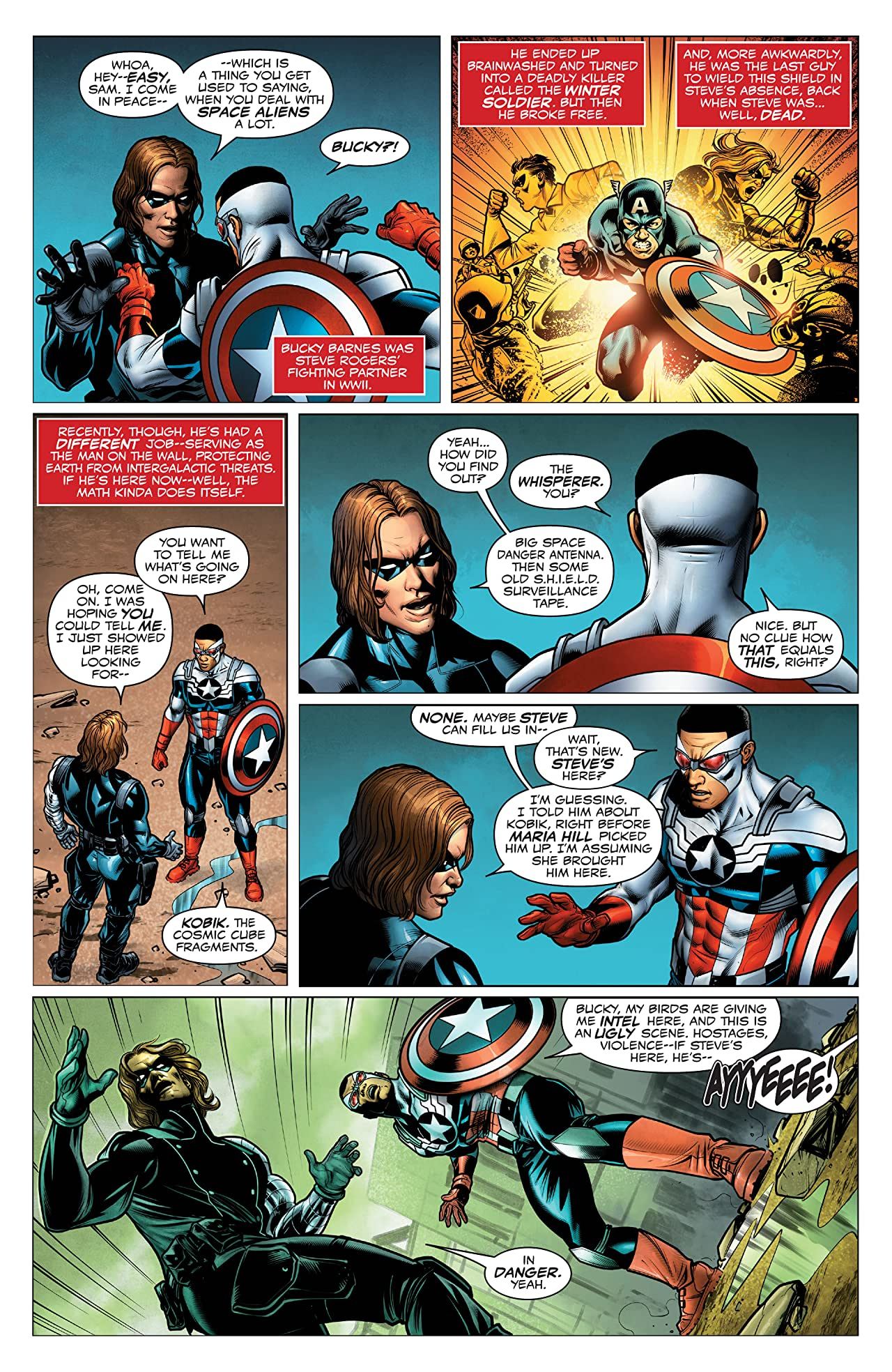Captain America: Sam Wilson - The Complete Collection Vol. 2