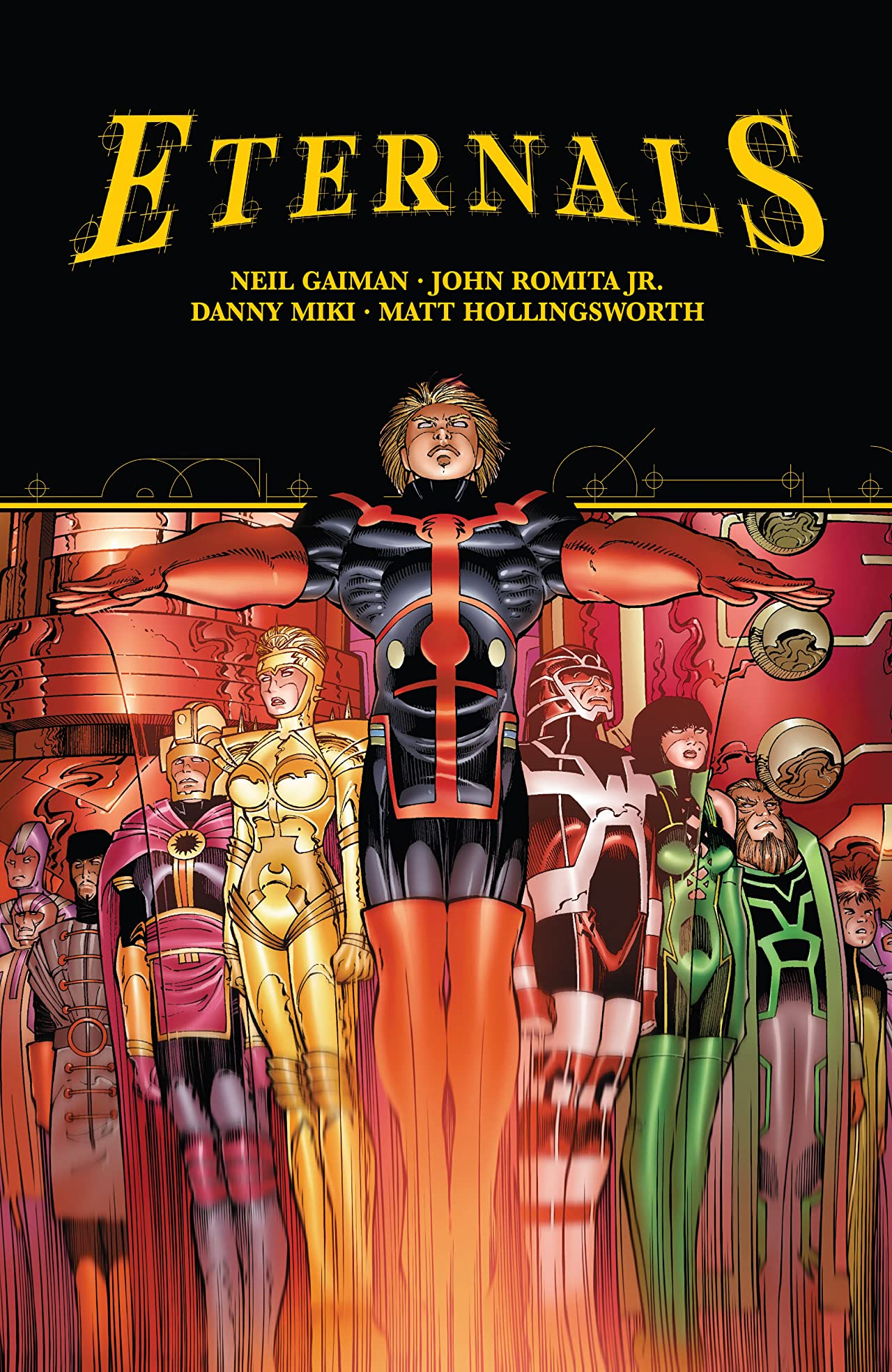 Eternals by Gaiman & Romita Jr.