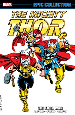Thor Epic Collection: The Thor War
