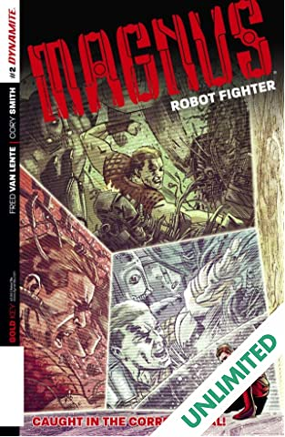 Magnus: Robot Fighter #2: Digital Exclusive Edition