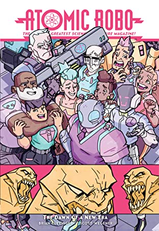 Atomic Robo Tome 13: Atomic Robo & The Dawn of a New Era