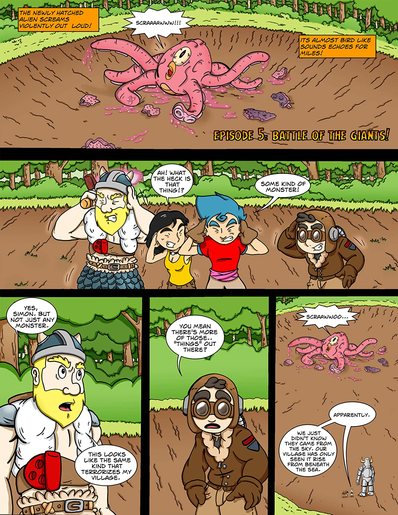 The Adventures of Simon's Island #5