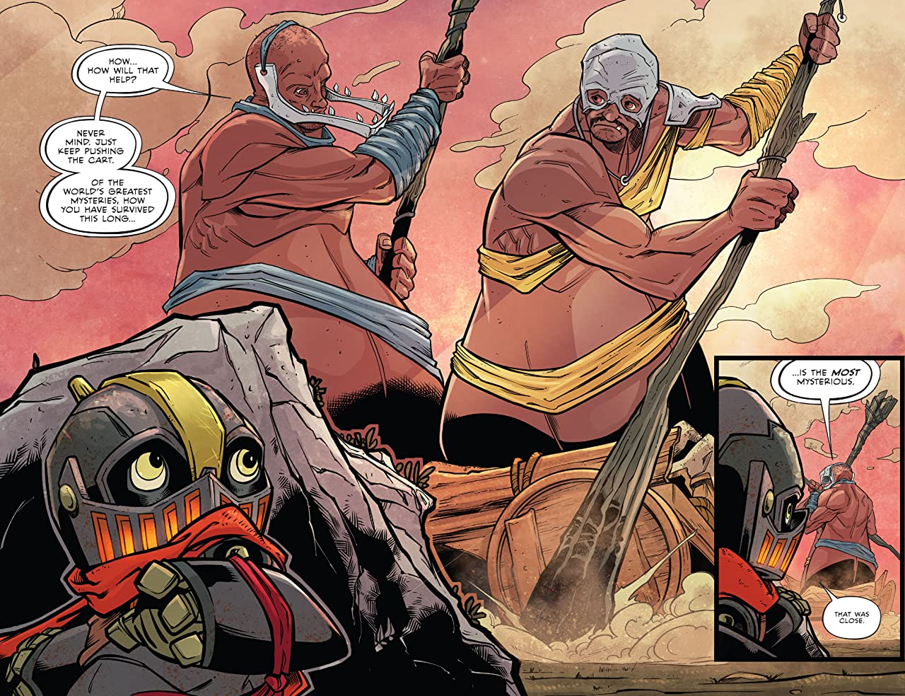 Canto II: The Hollow Men #4 (of 5)