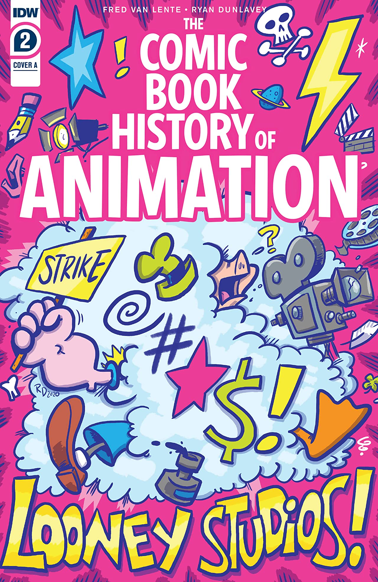 Comic Book History of Animation #2 (of 5)
