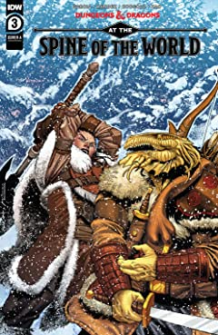 Dungeons & Dragons: At the Spine of the World #3 (of 4)