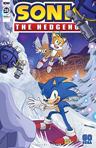 Sonic The Hedgehog (2018-) #36