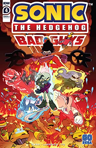 Sonic: Bad Guys #4 (of 4)