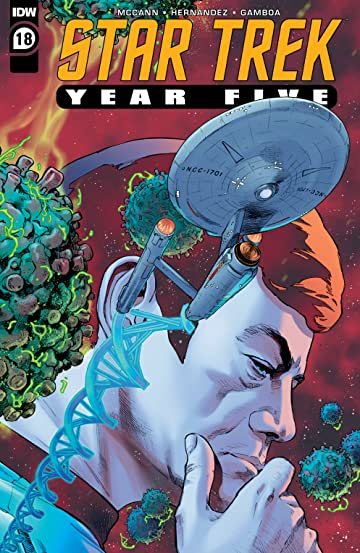 Star Trek: Year Five #18