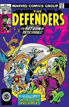 Defenders (1972-1986) #58