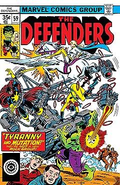 Defenders (1972-1986) #59