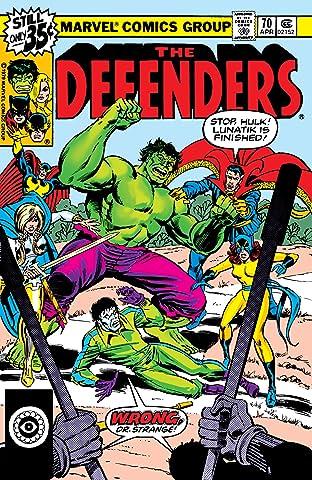 Defenders (1972-1986) No.70