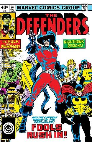 Defenders (1972-1986) No.74