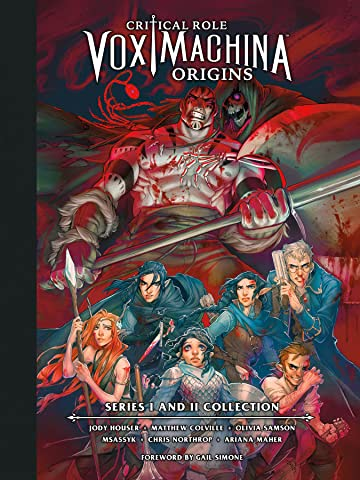 Critical Role: Vox Machina Origins Series I and II Library Edition