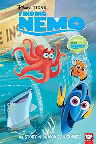 Disney•PIXAR Finding Nemo and Finding Dory: The Story of the Movies in Comics