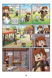 The Minecraft-inspired Misadventures of Frigiel and Fluffy Vol. 1