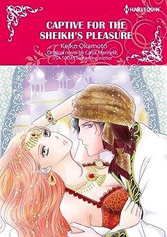 Captive For The Sheikh's Pleasure