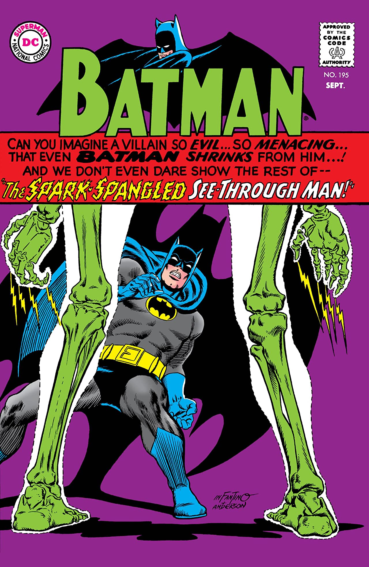 Batman (1940-2011) No.195