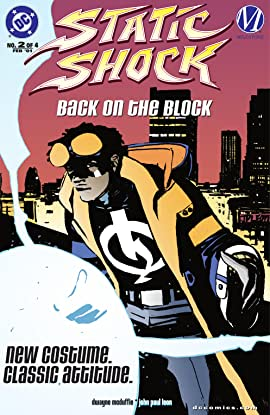 Static Shock!: Rebirth of the Cool (2000) #2