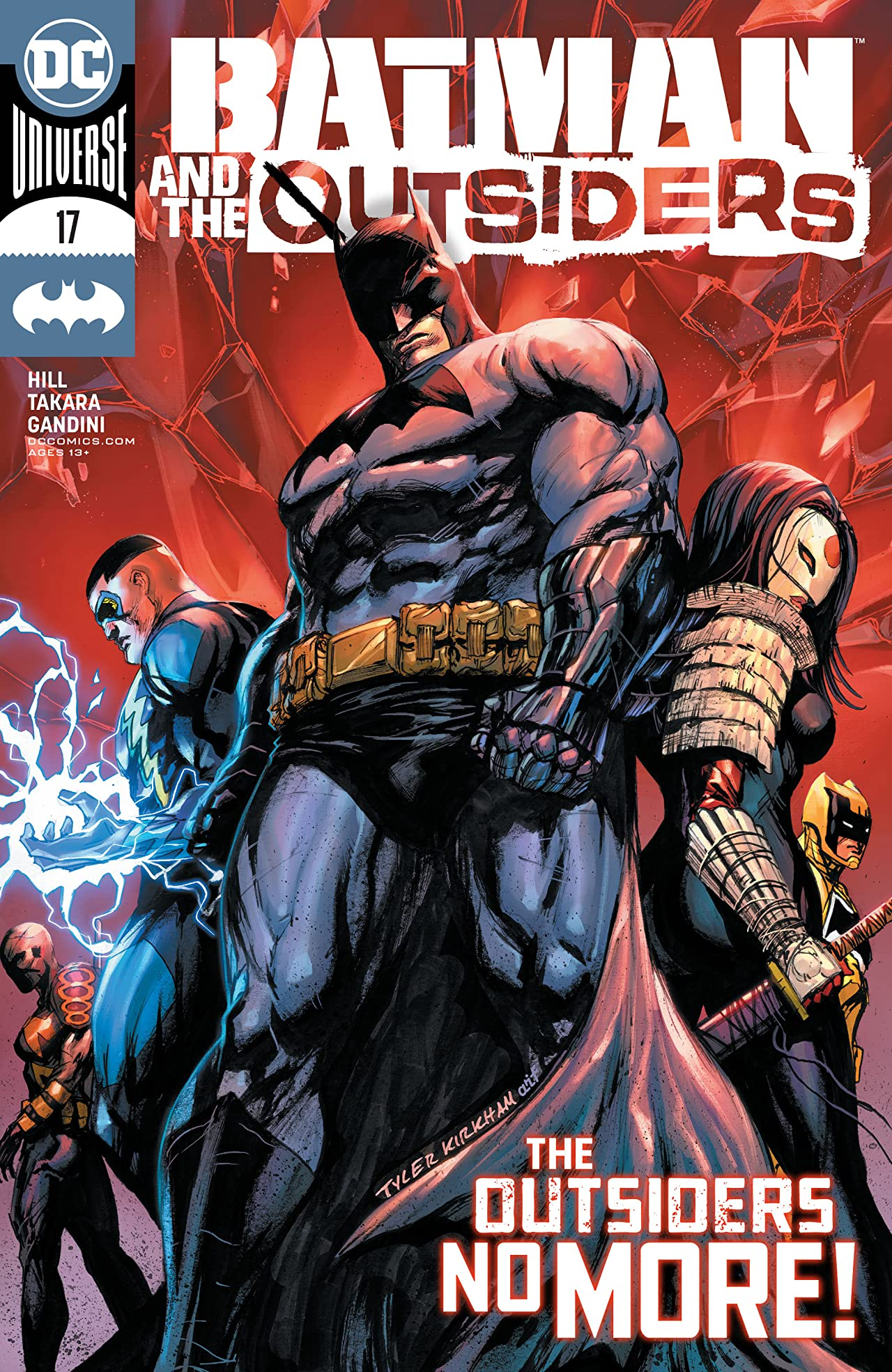 Batman and the Outsiders (2019-) #17