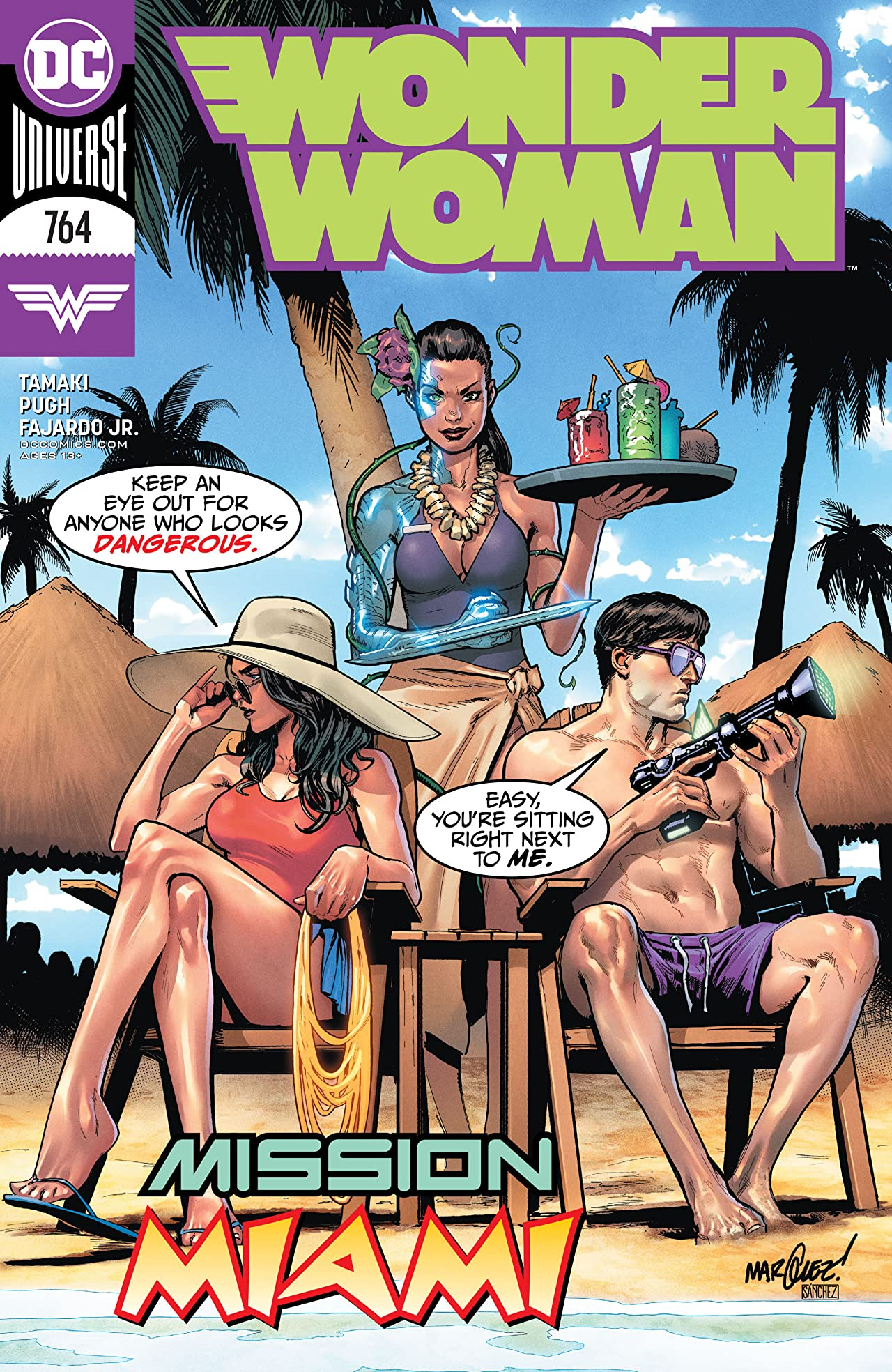 Wonder Woman (2016-) No.764