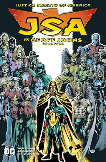 JSA by Geoff Johns Book Four