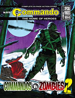 Commando No.5379: Commandos Vs Zombies 2