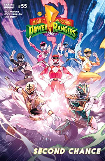 Mighty Morphin Power Rangers #55