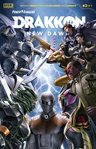 Power Rangers: Drakkon New Dawn No.3