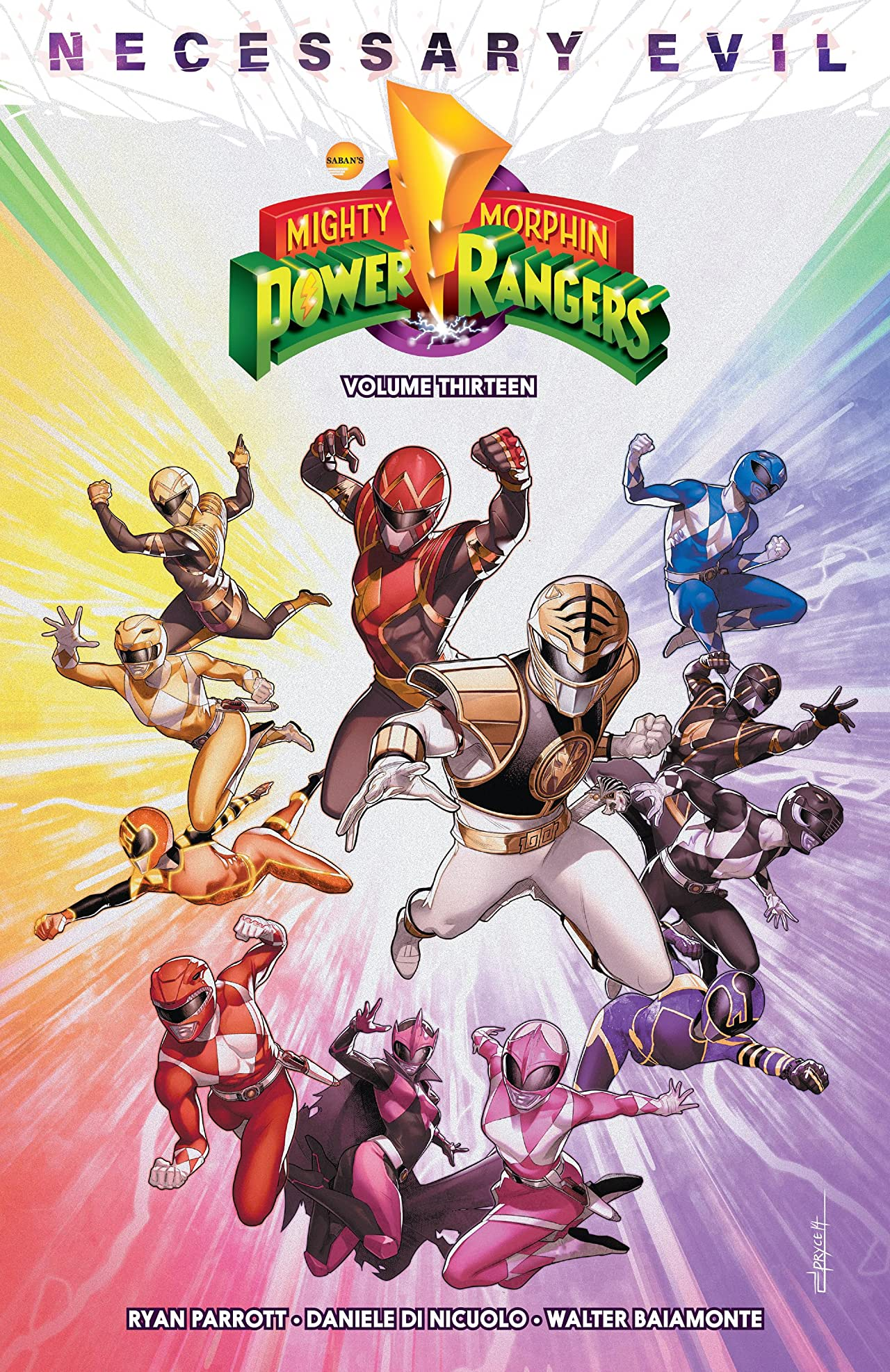 Mighty Morphin Power Rangers Tome 13