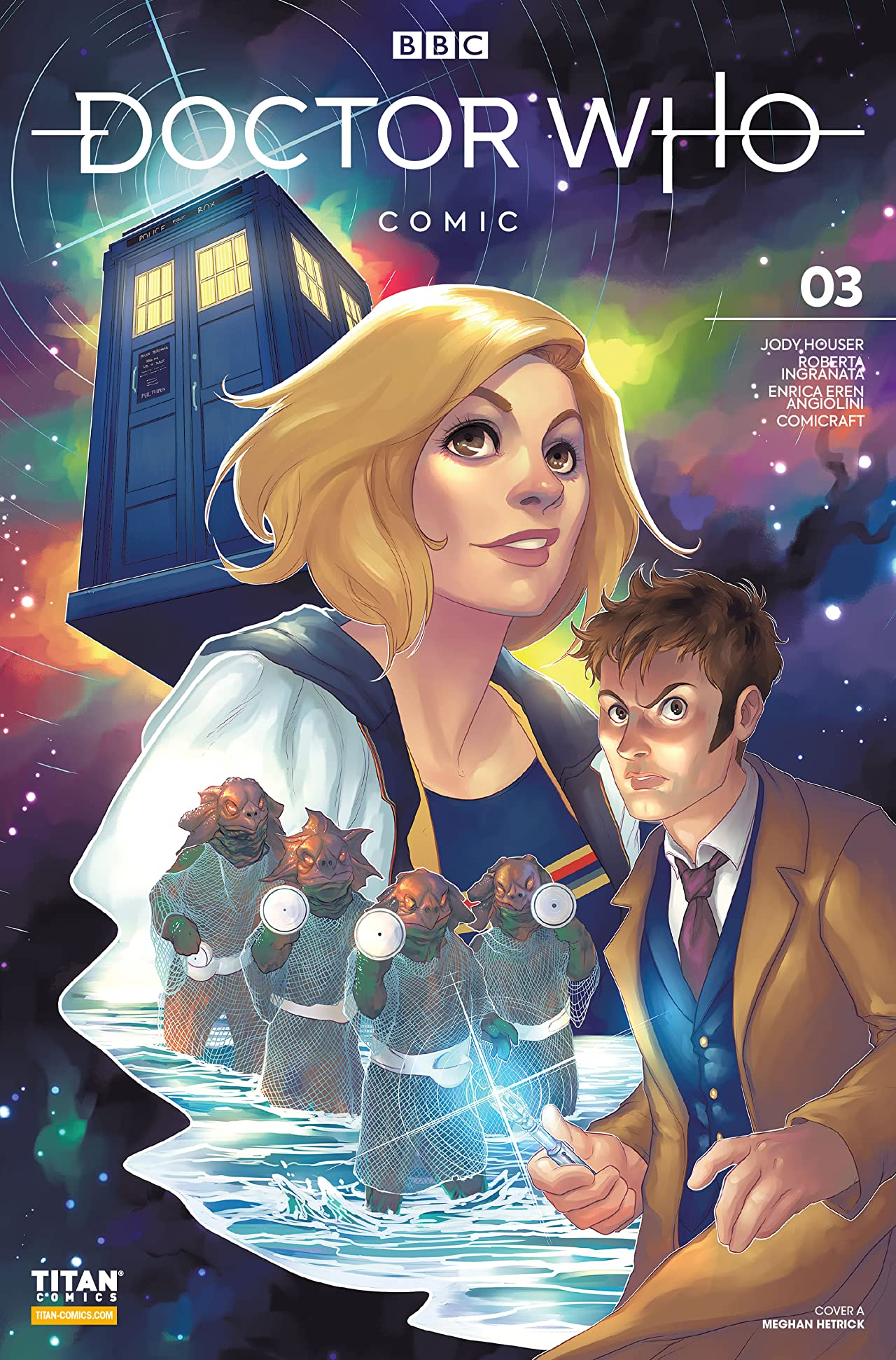 Doctor Who Comics No.3