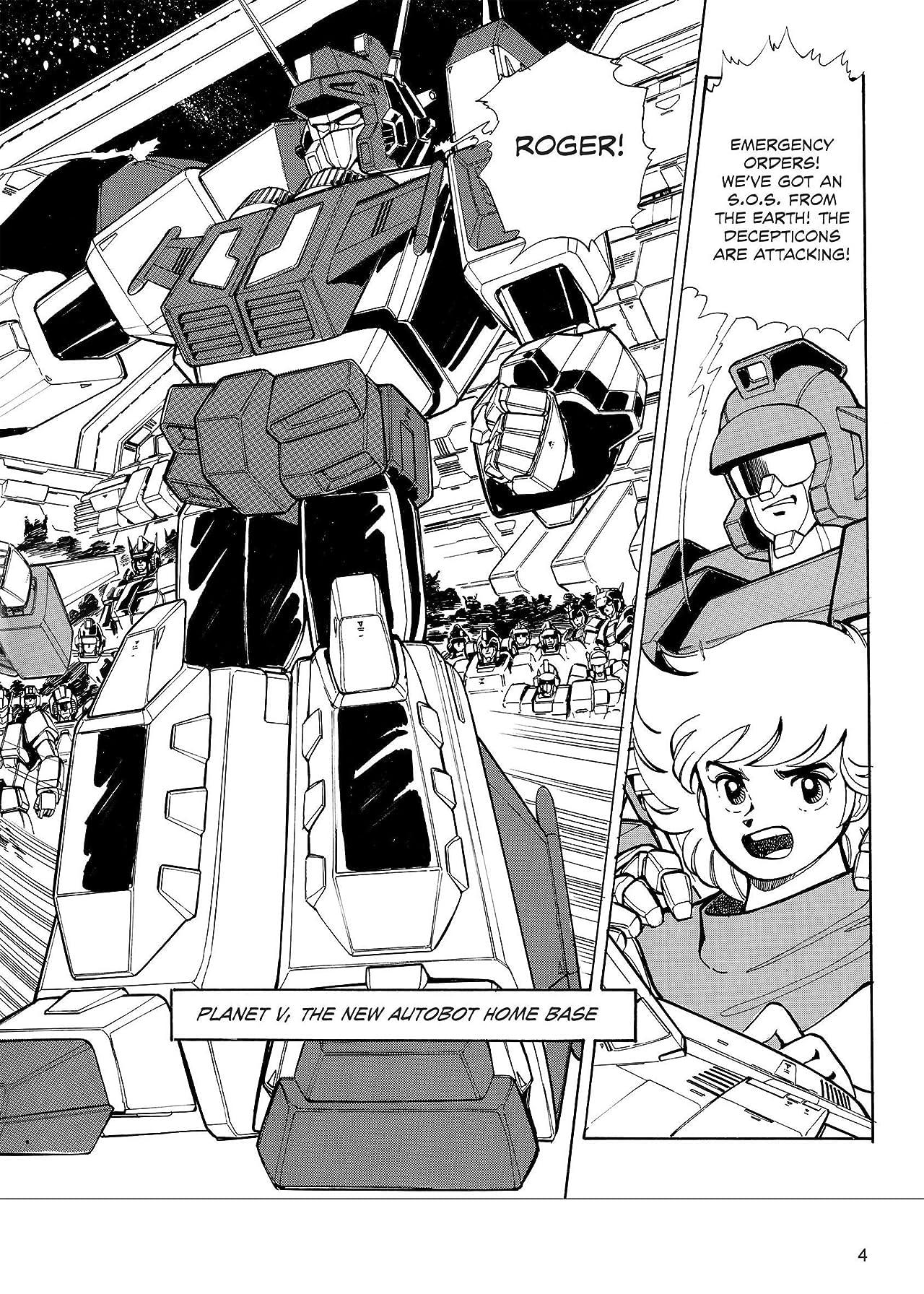 Transformers: The Manga Vol. 3