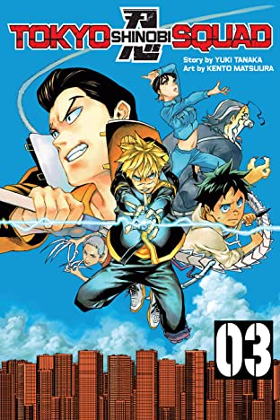 Tokyo Shinobi Squad Vol. 3: The Domain Of Death