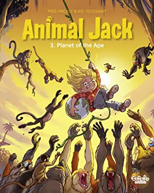 Animal Jack Vol. 3: Planet of the Ape