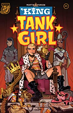 King Tank Girl COMIC_ISSUE_NUM_SYMBOL1