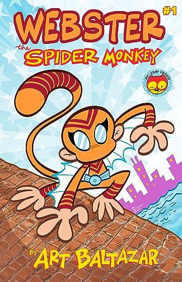 WEBSTER The SPIDER MONKEY #1