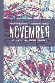 November Book Three