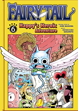 Fairy Tail: Happy's Heroic Adventure Tome 6