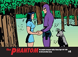 The Phantom: The Complete Newspaper Dailies: 1947-1949 Vol. 8