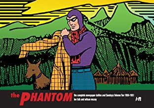 The Phantom: The Complete Newspaper Dailies and Sundays: 1950-1951 Vol. 10