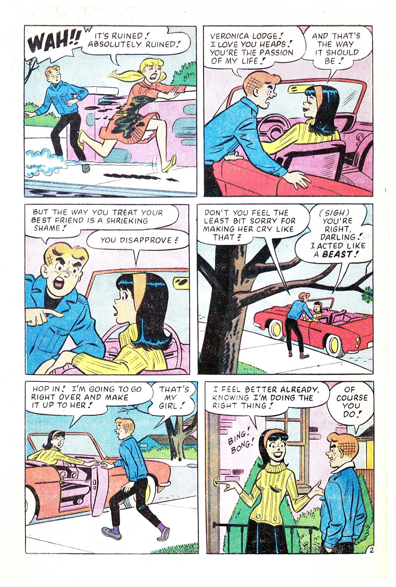 Archie's Girls Betty & Veronica #134