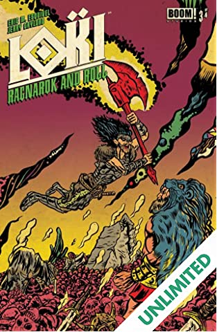 Loki: Ragnarok and Roll #3 (of 4)