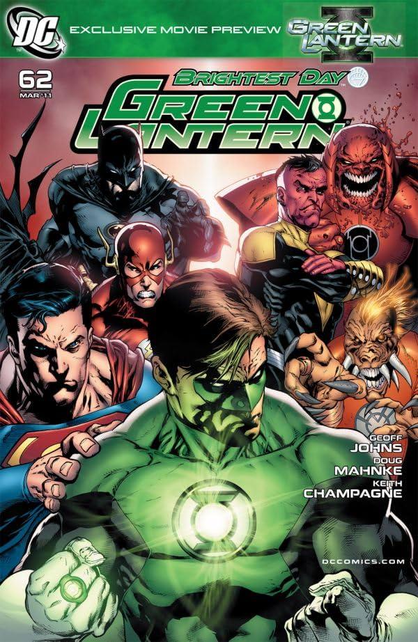 Green Lantern (2005-2011) #62