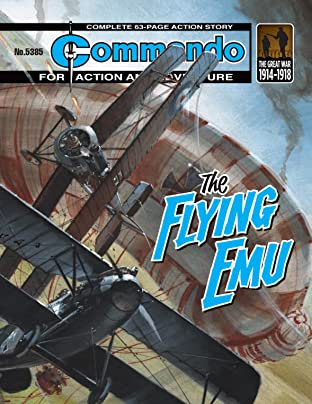 Commando #5385: The Flying Emu