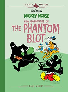 Disney Masters Tome 15: Mickey Mouse: New Adventures of The Phantom Blot