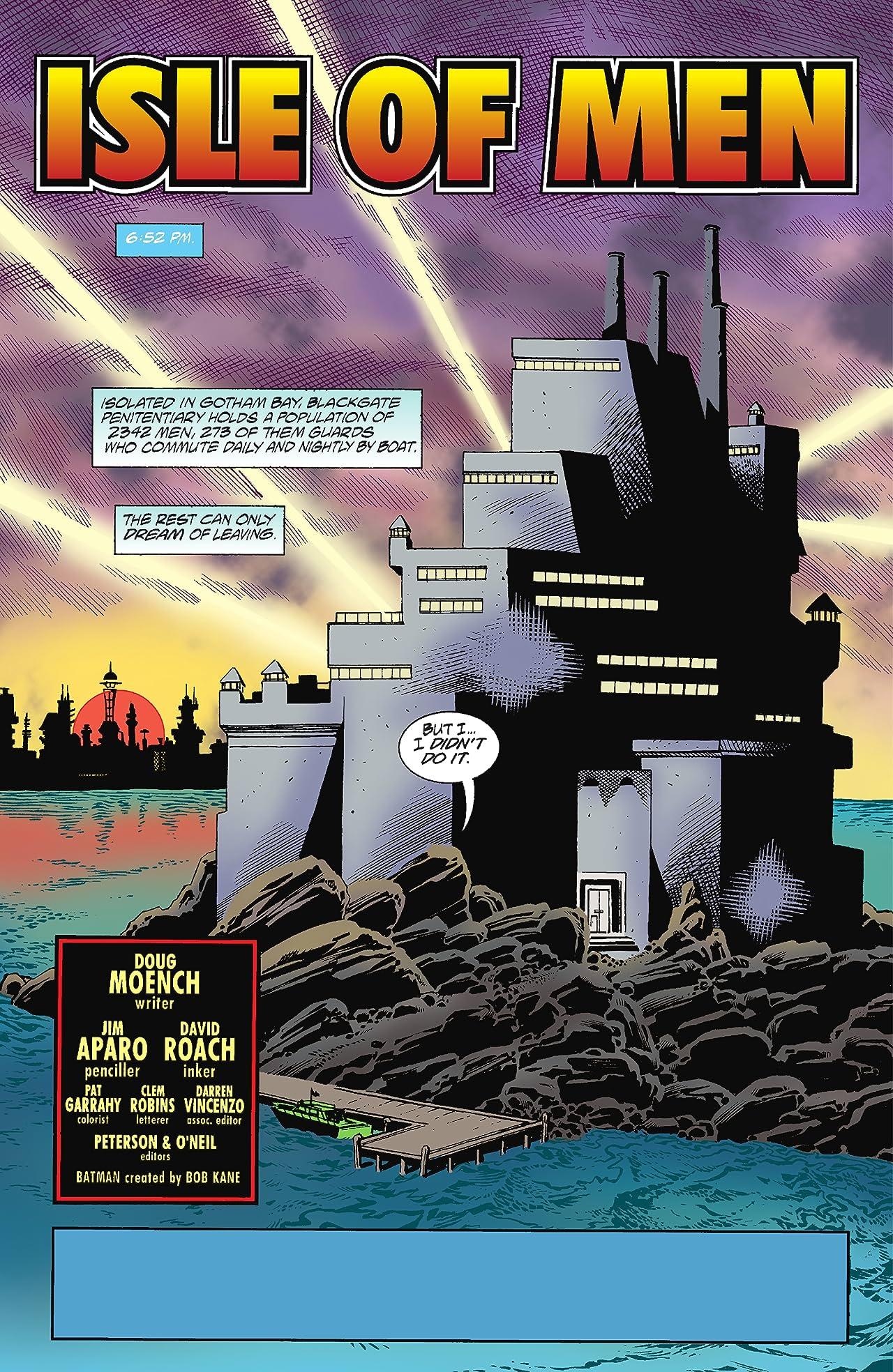 Batman: Blackgate - Isle of Men (1998) #1