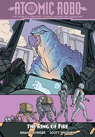 Atomic Robo Vol. 10: Atomic Robo & The Ring of Fire