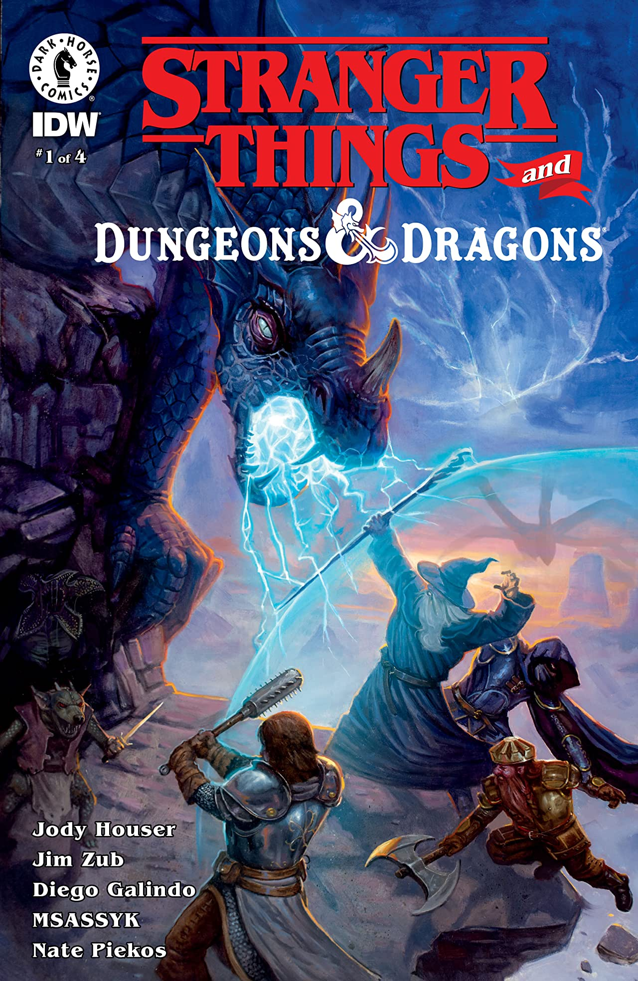 Stranger Things and Dungeons & Dragons No.1